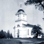 Muolaan kirkko sijaitsi Kirkkorannan kylässä, Kirkkojärven läheisellä mäellä.  Kirkko oli rakennettu vuosina 1849–1852.  Kirkon suunnitteli arkkitehti Ernst Lohrmann.   Kirkkon rakennusmateriaalina oli käytetty luonnonkiviä ja tiiliä.