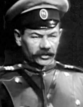 Tsaarin santarmi - tyly, mutta ynseä.. (Kuva filmistä)