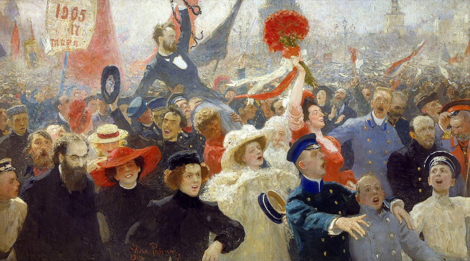 Repin, 17-october-1905, 1906-11