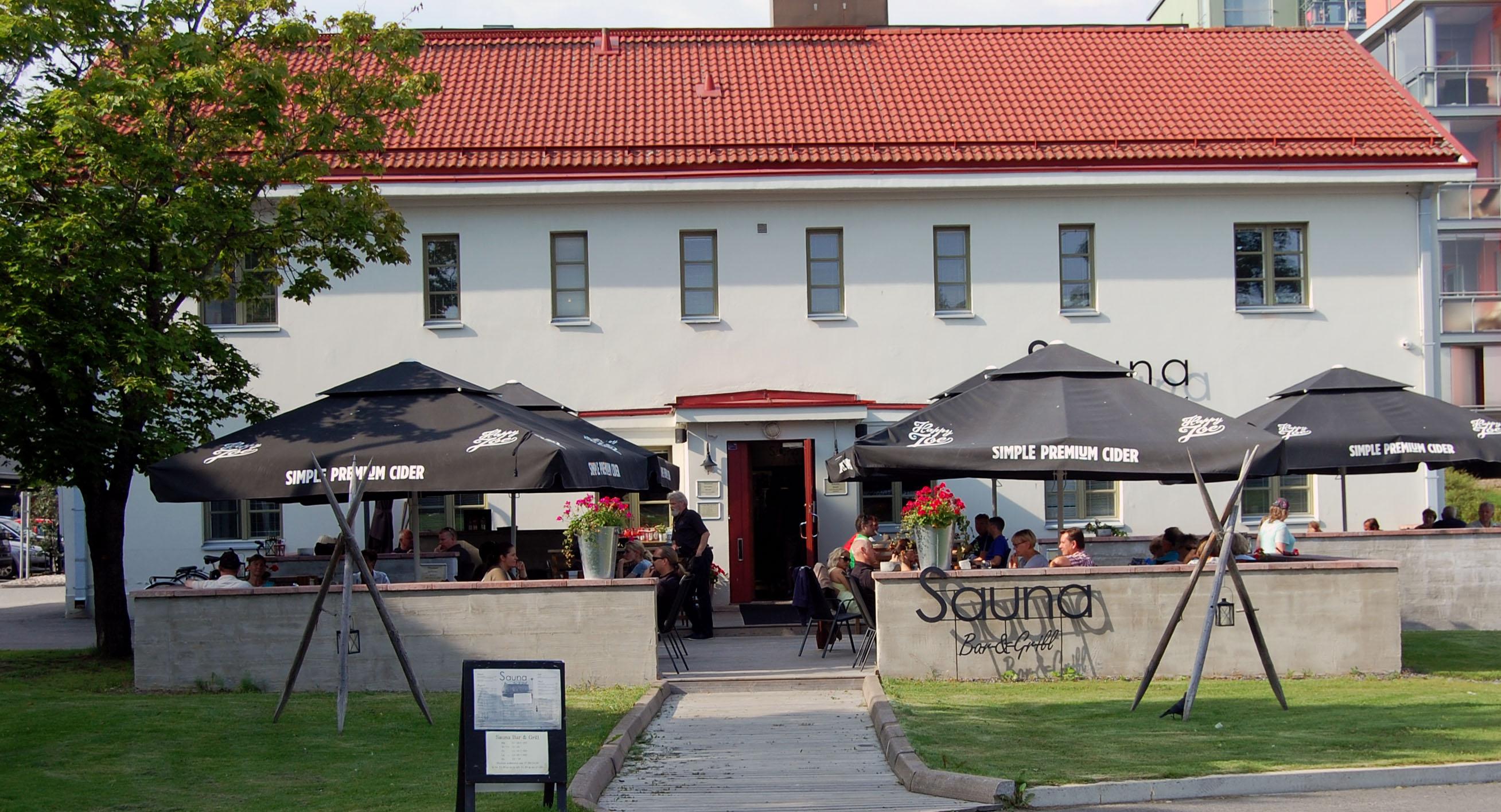 Sauna-ravintola Valkeakoskella